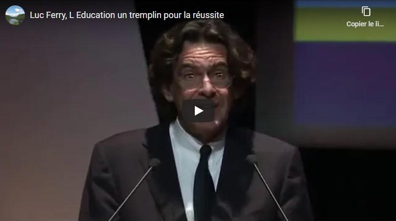 Vidéo Luc Ferry