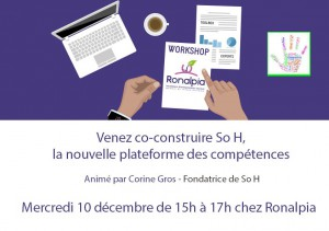 Workshop 10 décembre So H